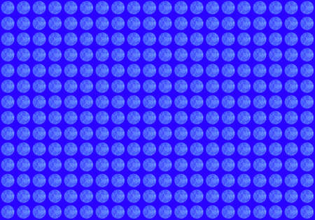 Blue tone seamless background with 3D effect