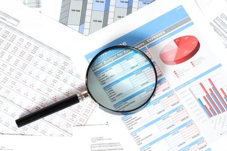appraise: financial documents