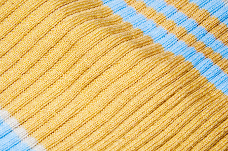 tejido de lana: multicolored striped woolen fabric the background texture Foto de archivo