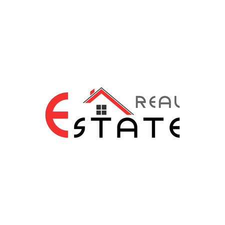 Abstract real estate, house, apartment, building logo vector design template