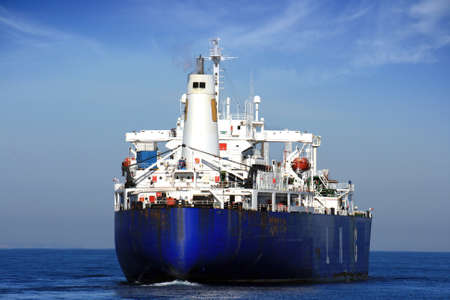 merchant: Liquid gas transport Stock Photo