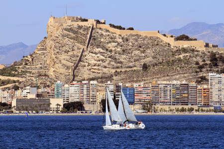 Race in Alicante Bay, Spain  photo