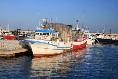 profundity: Fishing boats docked