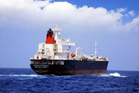 Petrol tanker in open waters Stock Photo - 15347158