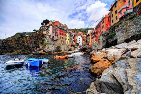 Riomaggiore, little port and town