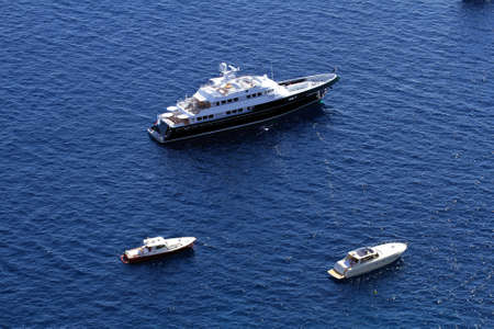 anchorage: Anchorage of private yachts