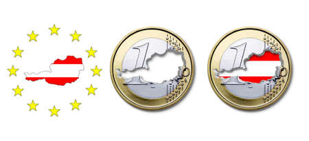 Euro  Austria Stock Photo - 17303664
