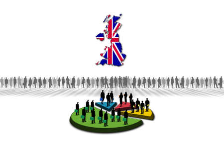 Statistics  United Kingdom Stock Photo - 17303636
