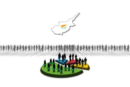 Statistics  Cyprus Stock Photo - 17303608