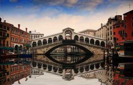 Rialto Bridge in Venice Stock Photo - 17318011