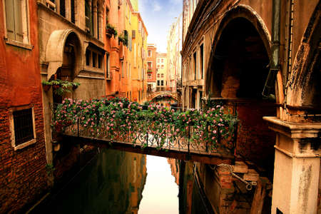Lovely canals and bridges in Venice Stock Photo - 17298767