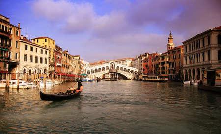rialto: Rialto Bridge in Venice