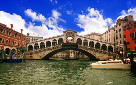 Rialto Bridge in Venice Stock Photo - 17318087