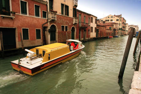 marcos: Lovely canals and houses in Venice Stock Photo