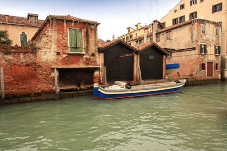 sestiere: Lovely canals and houses in Venice Stock Photo