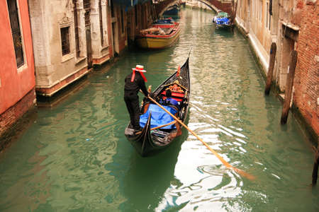 sestiere: Lovely canals and bridges in Venice Stock Photo