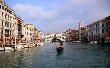 sestiere: Rialto Bridge in Venice