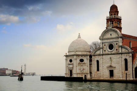 Church in North Lagoon in Venice photo