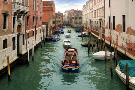 marcos: Sailing in the canals of Venice