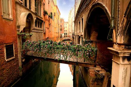 sestiere: Lovely bridge in San Marcos sestiere in Venice