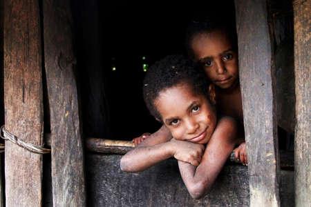 indonesia people: Papua Editorial