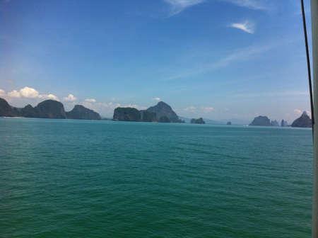 phang nga: Phang Nga bay Phuket Thailand