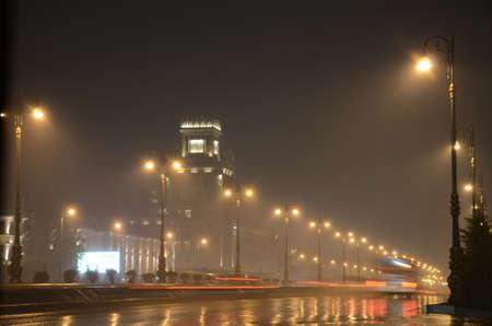 baku: A rainy evening in Baku (Azerbaijan)