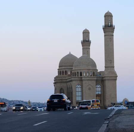 baku: Mosque in Baku. Azerbaijan