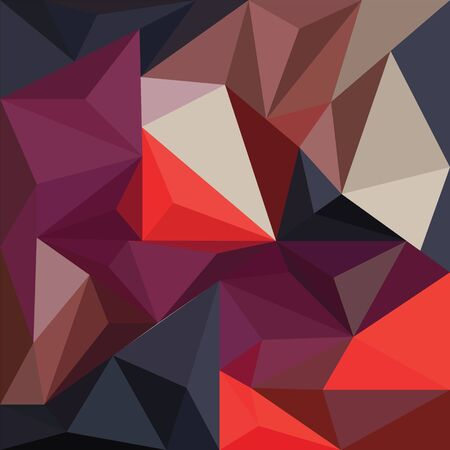Geometric mural art. Triangle geometric wall mural vector design. Modern and colorful abstract background for print, wall art, mural, banner, poster, etc. Archivio Fotografico - 137369158