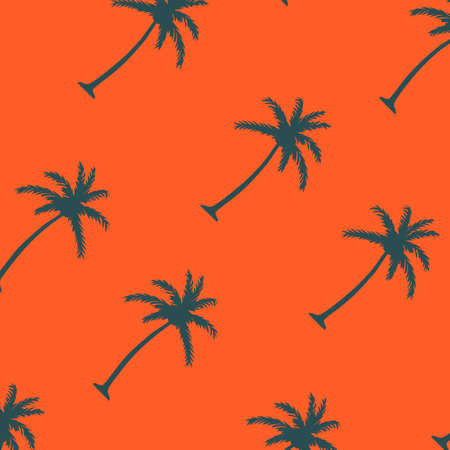 palm tree pattern. You can use it in a group as web background, wallpaper, full print t shirt design materials and others. You also can use it separately become icon or logo template.