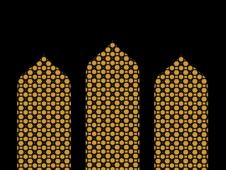 islamic ornament background vector. You can use it as background, wallpaper, wrapper, holiday prints, scrapbook, or even wedding. You also can use it separately become icon or logo template.