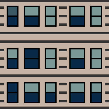 windows pattern on building texture vector. You can use it as background, wallpaper, wrapper, holiday prints, scrapbook, or even wedding. You also can use it separately become icon or logo template.