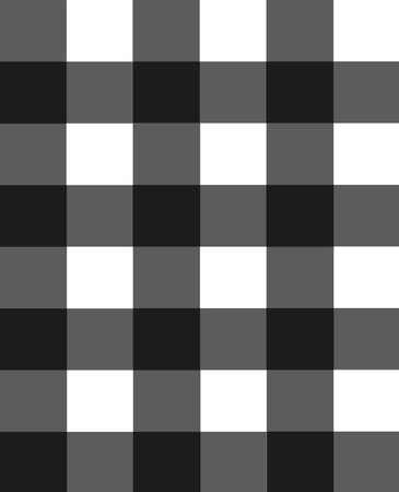 Checked black and white background - Illustration Flooring, Checked Pattern, Wallpaper, Abstract, Backgrounds Stock Photo