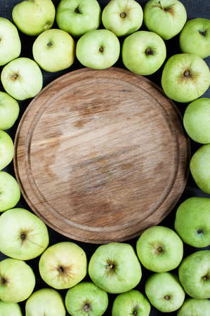 board: Apples and board