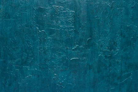 Blue texture of wall surface, background