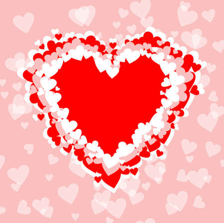 Valentine's Day. Background with heart template. Wallpapers, flyers, invitations, posters, brochures, banners. Valentine's Day.