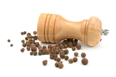 allspice  and a mill for grinding