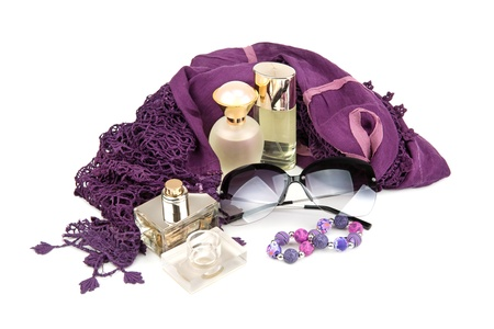 perfume and other accessories for women