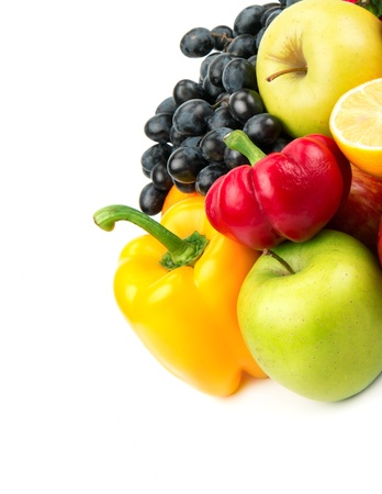 collection of fruits and vegetables Stock Photo - 16437939