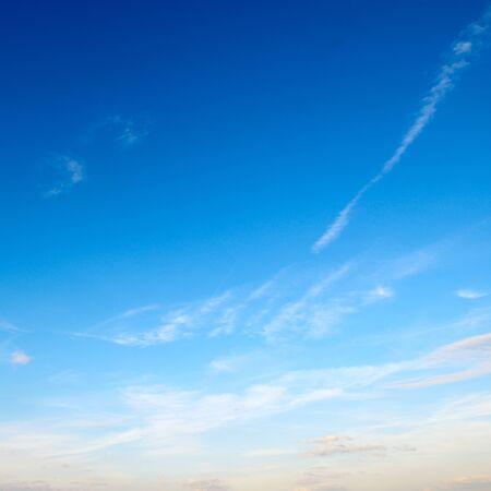 nimbi: light clouds in the blue sky