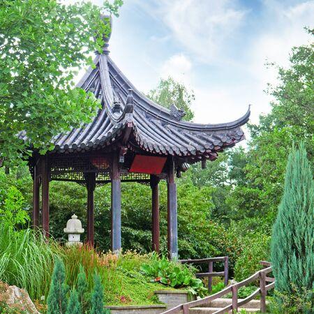 tuinhuis: zomerhuis in een prachtig park