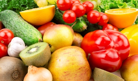 fruits and vegetables Stock Photo - 19085963
