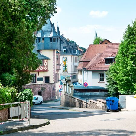 carlsberg: View of the urban landscape. Germany. Carlsberg Stock Photo