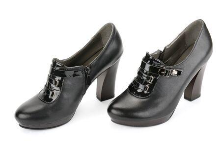 classic shoes isolated on white background photo