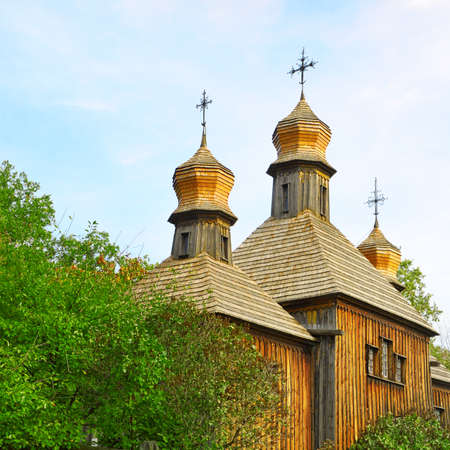 sanctity: Orthodox Church, the old wooden building