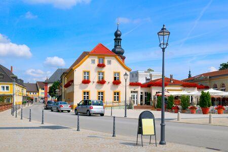 urban road: beautiful urban landscape (germany, Schwetzingen)