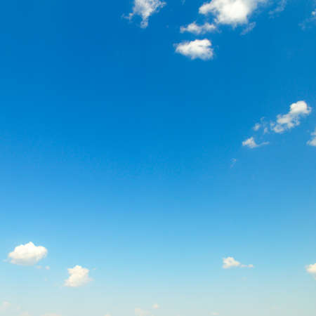 Blue sky with beautiful natural white clouds.