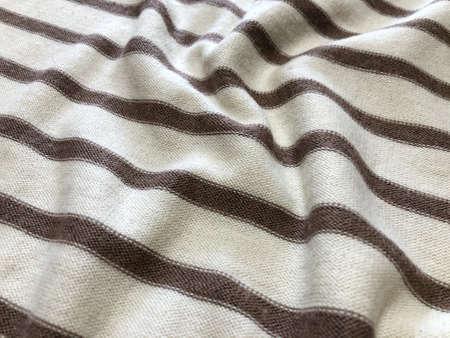 sudaderas de rayas blancas y marrones. suéter de rayas. Textura