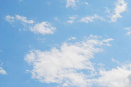 blue sky background with white clouds. international climate day. world meteorology day. World Wind Day 스톡 콘텐츠