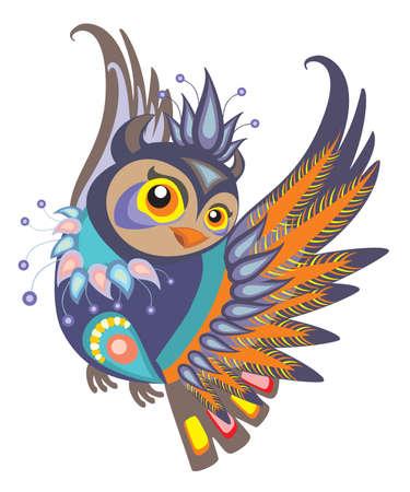 colors: Decorative Owl